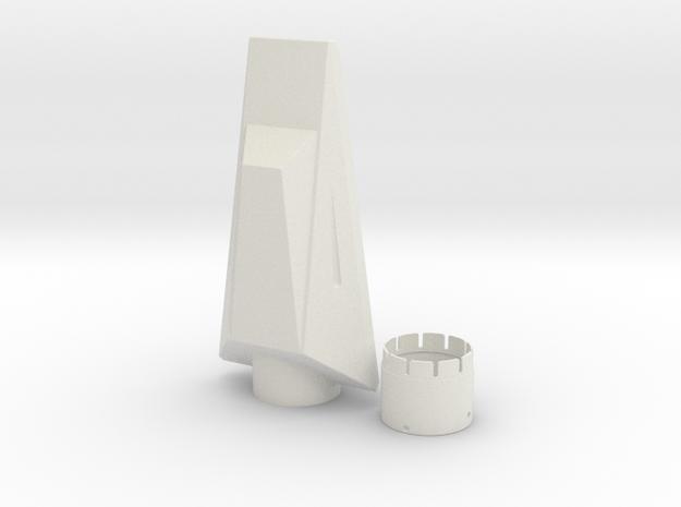 NC-80 (Upscale Orion/Manta) in White Natural Versatile Plastic