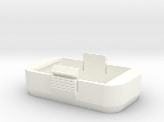 Couvercle batterie pour phantom Dji P2 Petit modèl in White Processed Versatile Plastic
