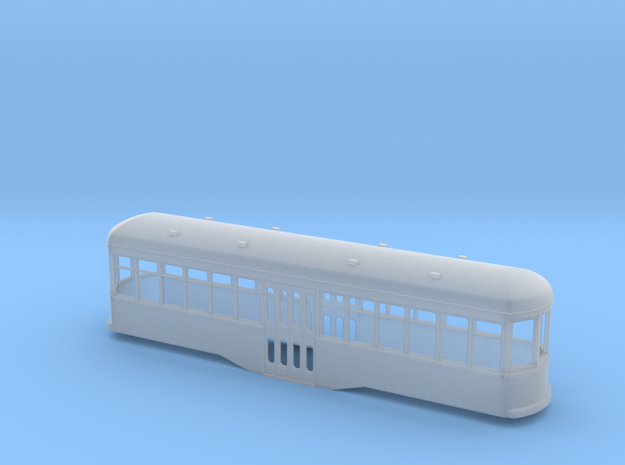 5.5 mm scale trolley centre entrance 3d printed