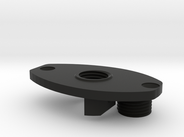FE sef A3 grip motor plate with screw 3d printed