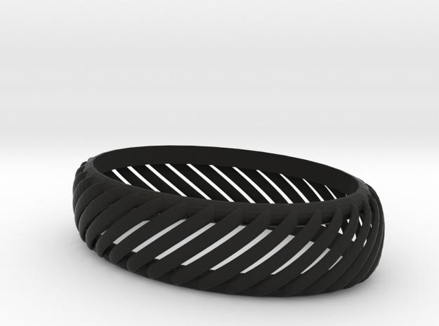 slotted bracelet 3d printed