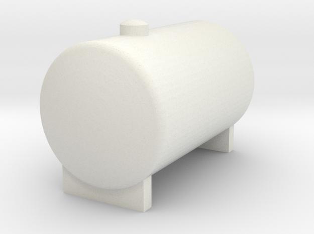 Water Tank 1/32 Model in White Natural Versatile Plastic
