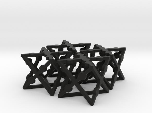 xCube Dice (Set of 4) 3d printed