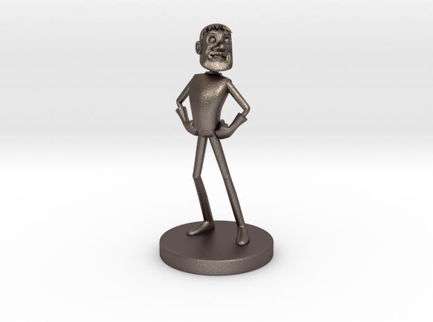 Johnny Blender 3 - JB3 - Full-Color Statue 3d printed