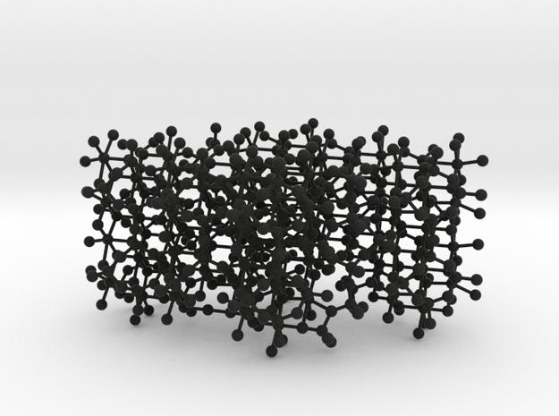 Rings and Slab framework 3d printed