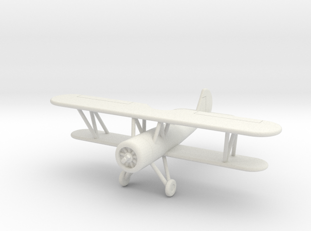 GAAR13 Speedwing Racer (1/144) in White Natural Versatile Plastic