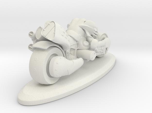 Fenrir FF7 AC in White Strong & Flexible