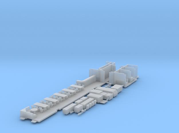 WGmz825 Inneneinrichtung TT 1:120 in Smooth Fine Detail Plastic