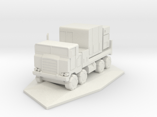 Pershing 1-A PTS/PS Truck 3d printed Rendering