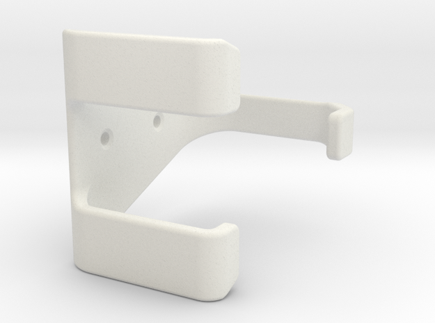 PS3-controller wall mount Hook in White Strong & Flexible