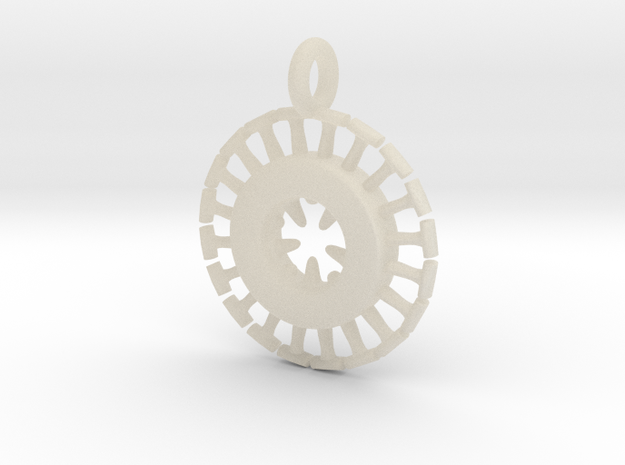 Coccos Plankton Pendant 3d printed