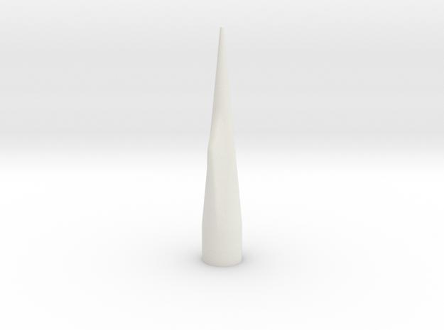 NC-70 (Upscale PNC-50SP) NO Shoulder in White Natural Versatile Plastic