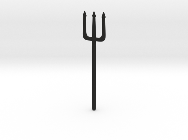 Pitchfork or Trident for Minimates 3d printed