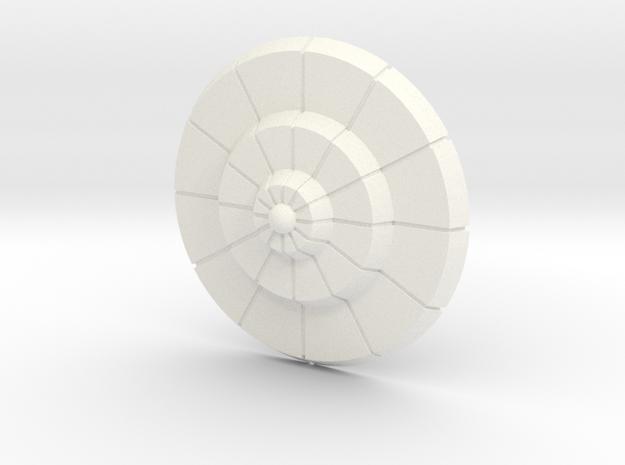 Royal Shield 200X in White Processed Versatile Plastic
