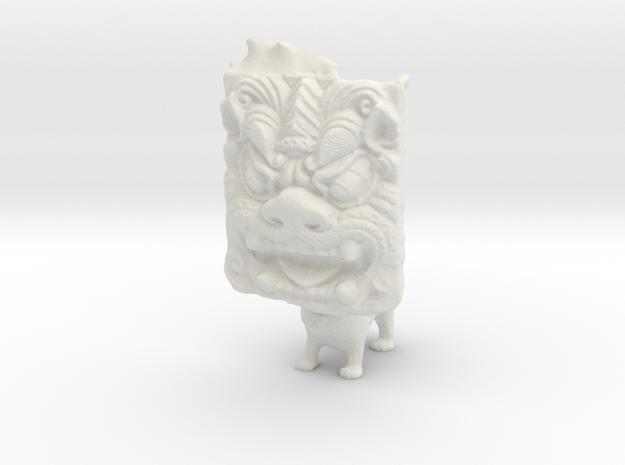 Ogre Puppy in White Natural Versatile Plastic