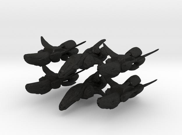 Scout Ship Proto (original size) 6-pack 3d printed