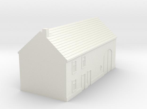1/350 Barn House 2 in White Strong & Flexible