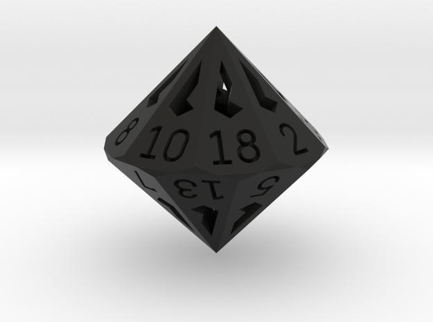 18 Sided Die - Large 3d printed
