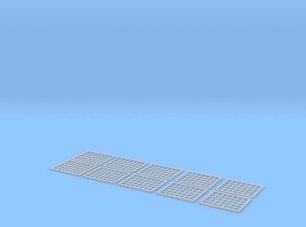 N (1:160) Industrial Windows x10 3d printed