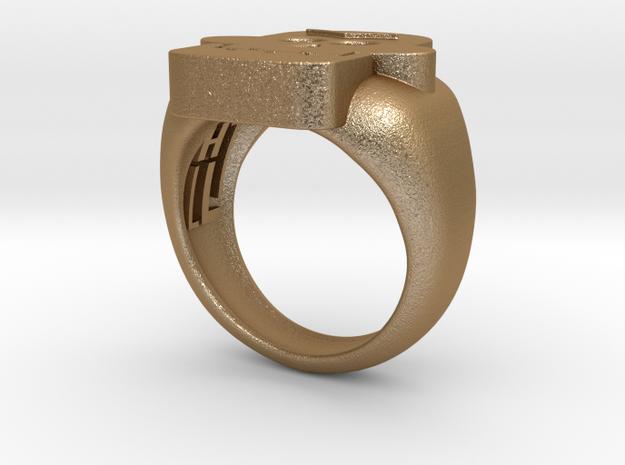 Skull III Ring 3d printed