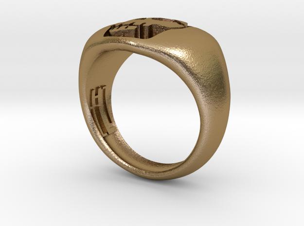 Skull VI Ring 3d printed