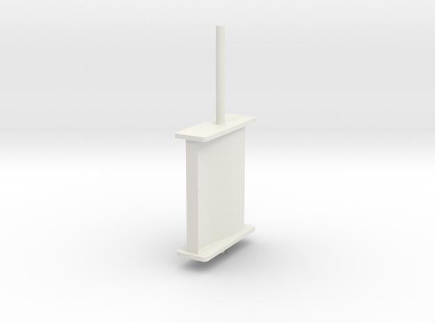 schilling rudder springer v6 3d printed