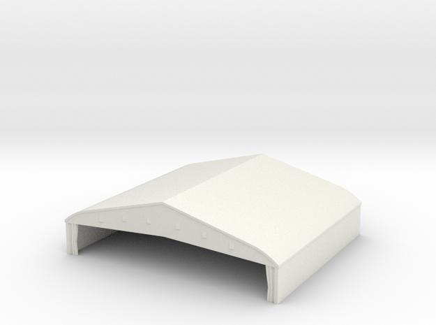 1/350 Bessonneau Hangar 6 in White Natural Versatile Plastic