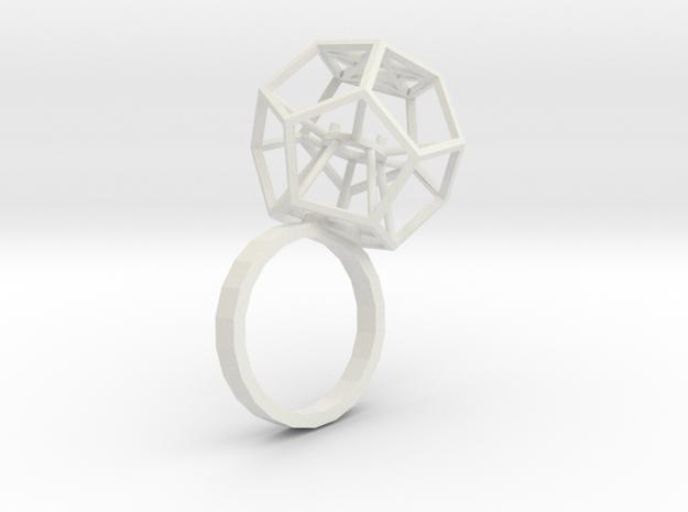Ring Dodekaeder 3d printed
