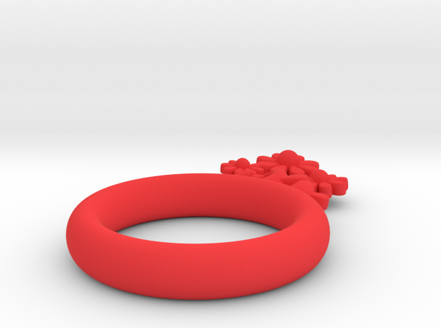 Daisy Ring D16 3d printed
