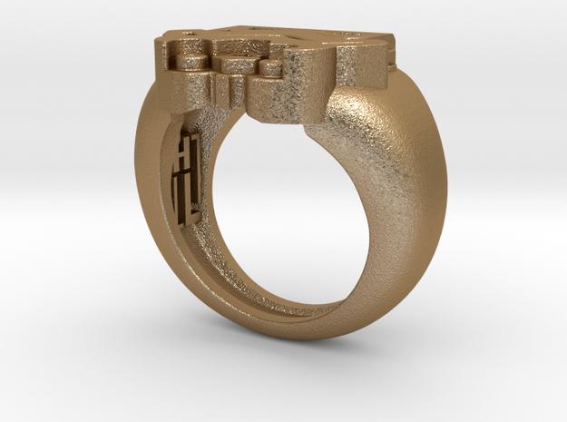 Storm Trooper Ring 3d printed