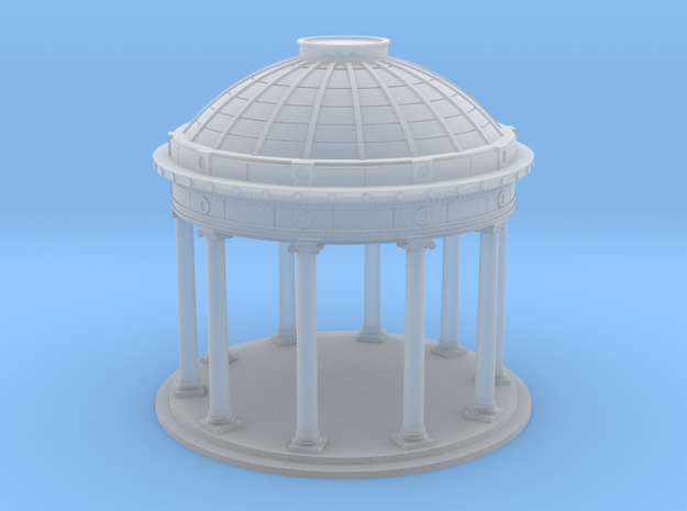 N Scale (1:160) Bandstand without railing/stairs in Smooth Fine Detail Plastic
