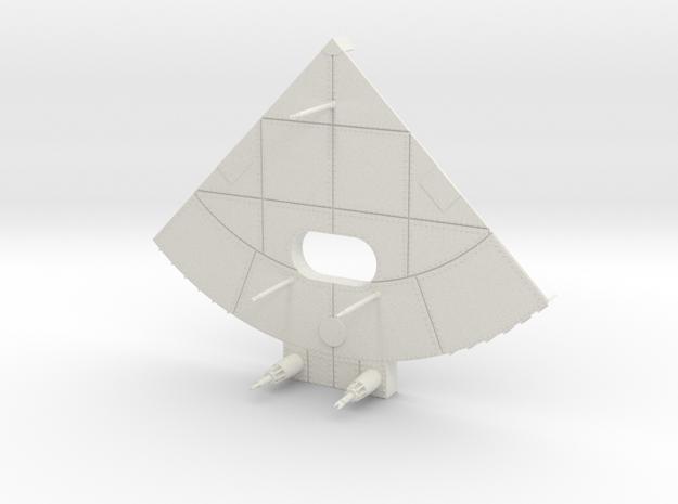 F1 3D Base 1:36 Main in White Natural Versatile Plastic