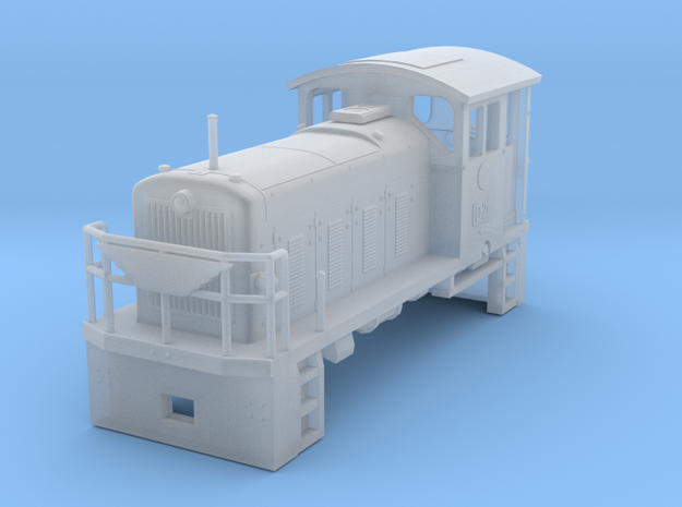 HOn30 PBR D21 Locomotive 3d printed