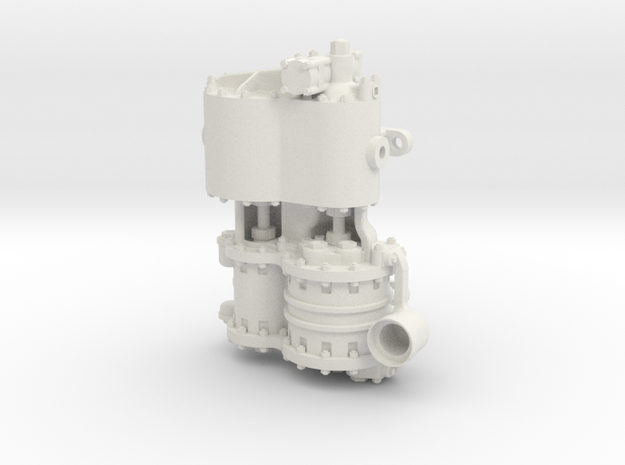 Westinghouse CC 1.5 Intake in White Natural Versatile Plastic