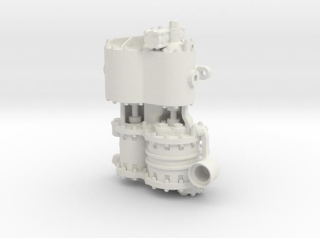 Westinghouse CC 1.0 Intake in White Natural Versatile Plastic