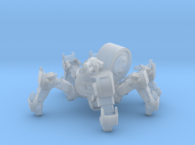 SciFi Spiderbot 28mm in Smooth Fine Detail Plastic