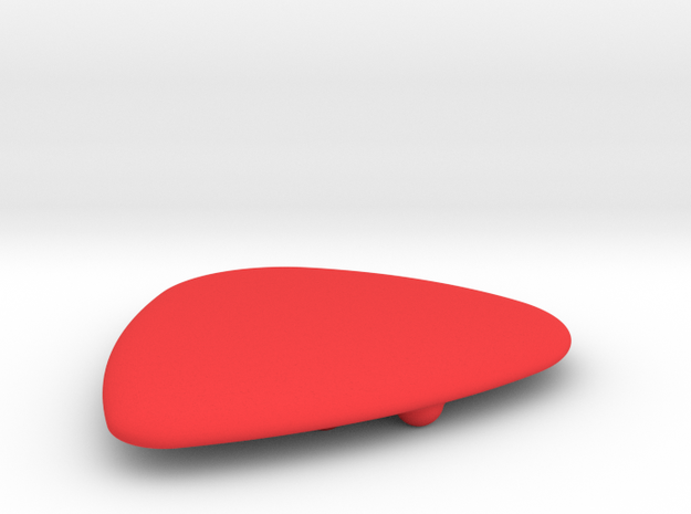 Dimple Guitar Pick - Oval Shape 3d printed