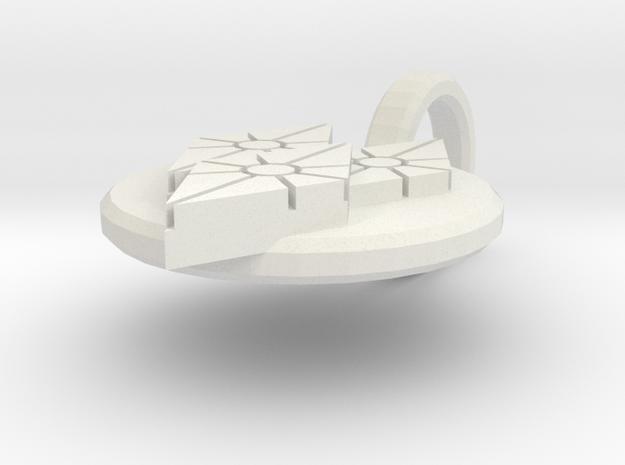 Diamonds Pendant 3d printed