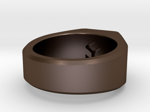 gent's ring 3d printed
