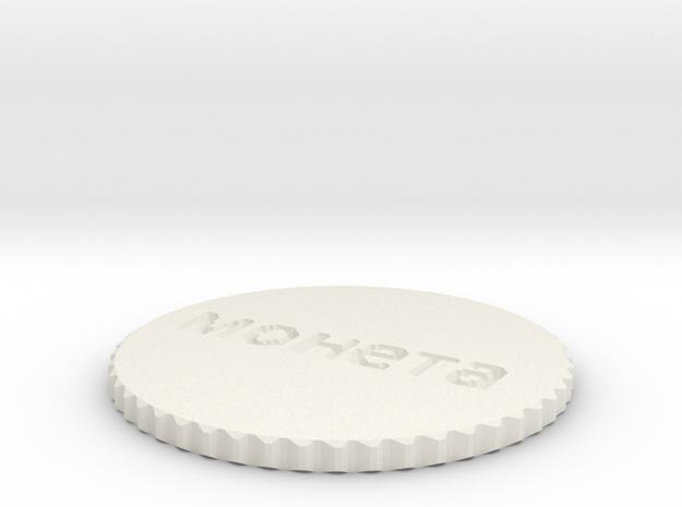 by kelecrea, engraved: монета 3d printed