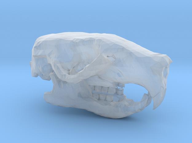 Mini Rat Skull in Smooth Fine Detail Plastic