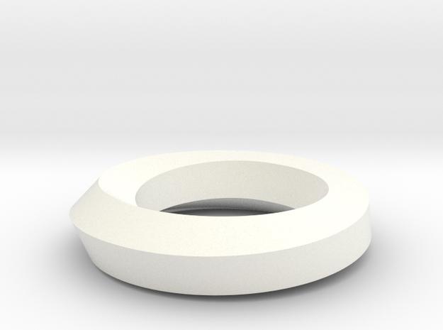 Twist Edge Circle Pentagon 3d printed