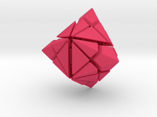 QuadStar Puzzle 3d printed