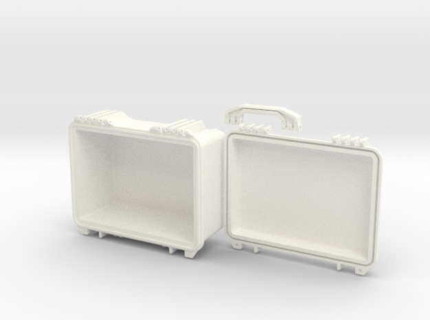 SW3dPS peli case model 1450 Fuer Druck120703   SW3 in White Strong & Flexible Polished