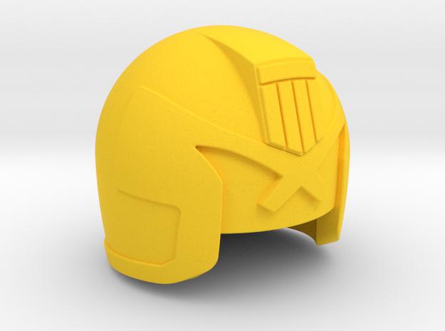 Judge Helmet 3d printed