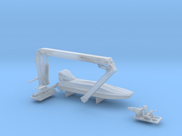 05.801.002-Beiboot-Kran  in Smooth Fine Detail Plastic