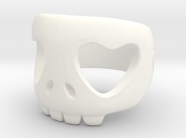 Heart Ring 10¼ 3d printed