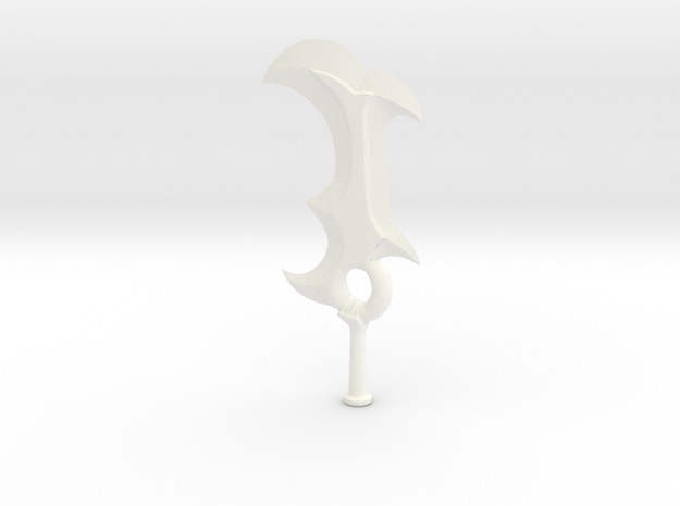 Demon Claive Smaller 3d printed