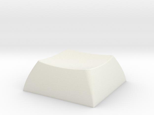 Keycap in White Natural Versatile Plastic