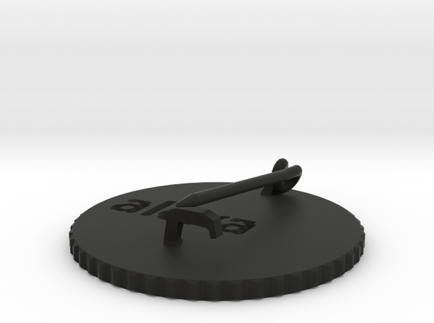 by kelecrea, engraved: alexa 3d printed